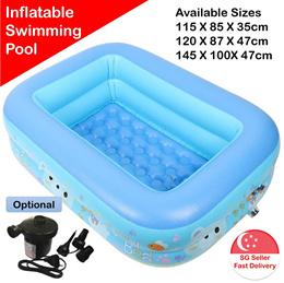 Inflatable Swimming Baby Toddler Kids Child Boy Girl Pool Swim Float Bathtub Tub Intex Shower Wading