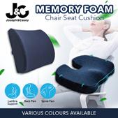 Memory Foam Chair Cushion / 3D Seat Cushion / Back Support  Relieves Tension / Chair Cushion Set