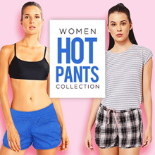 [NEW COLLECTION] LADIES HOT PANTS | WOMEN HOT PANTS CHECK PATTERNS