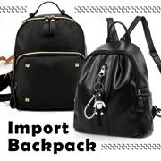 NEW MODEL - Korean Women Backpack / Tas Punggung Wanita  - 3 STYLE - Import Quality