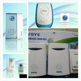 Doorbell Door bell Wireless Battery powered 36 tunes Dual Receiver Elderly patient call bell with LED Light