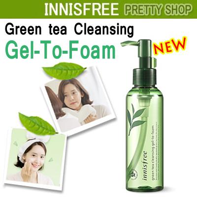 e762878ce81 Qoo10 - ☆Innisfree☆2018 NEW! Green tea cleansing gel-to-foam(150ml ...