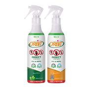 Bio-D Orbit Insect Control 300ml Spray x2 (Natural + Lavender)