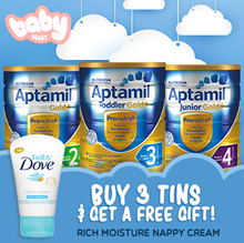 【FREE GIFT】*BUNDLE DEAL * Aptamil Gold+ Premium Milk Formula / New Zealand Imported