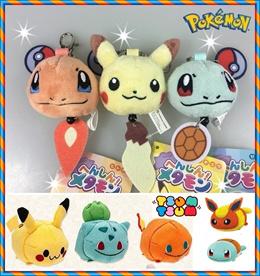 ★Sumikko★Pokemon Go Keychain★ Tsum Plush ★Pooh/princess/Kitty♥cartoon toy★Pikachu★Birthday party★Kid
