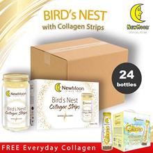 [Carton Deal] Birds Nest Collagen Strips 4 x 6s x 150g - FREE Everyday Collagen Drink with Birds Nes