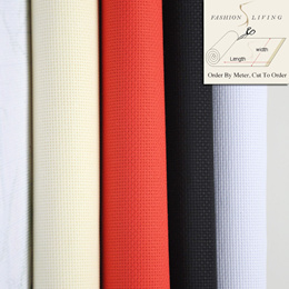 Embroidery Starter 11CT Count Aida Cloth Cross Stitch FabricWhite Black Red Beige Sold by Meter Cut to Order