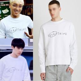 ★当日発送★ 【送料無料】BIGBANG VICTORY スンリ/ EXO D.O ディオスタイルのシンプルなロゴが魅力的なeverythingトレーナーTシャツ/スウェットシャツ