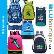 Minecraft school bag minecraft backpack Minecraft bag