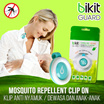 Bikit Guard Clip MOSQUITO Penolak Nyamuk untuk Dewasa dan Anak-anak | Harga Murah | 100% Asli dan Alami | Cartoon Stylish Korea and Japan Hit item