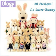 40+ Designs! Authentic Japanese Le Sucre Bunny Doll French Sugar Rabbit Plush Toy! Ready Stock!