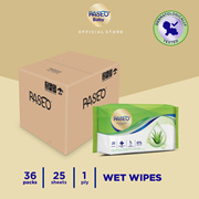 [Carton] Paseo Anti Bacterial Cleansing Wet Wipes