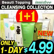 2019 RENEWAL!★1+1★Qoo10 LOWEST PRICE★Innisfree★Cleansing Foam Best Line!★Cleanser / Oil / Cream