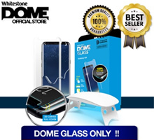 DOME GLASS ONLY!!!Whitestone Dome Glass(Note 9/8 S9/S9+/S8/S8+/IP-X/IP8/IP8+/Google Pixel 2 XL)