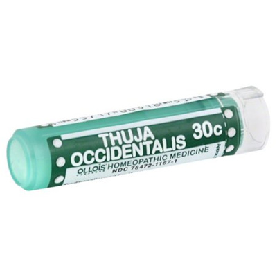Ollois Thuja Occidentalis 30C Pellets, Wart Relief, 80 Ct