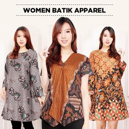 Midi Dress Tunik Batik Collection