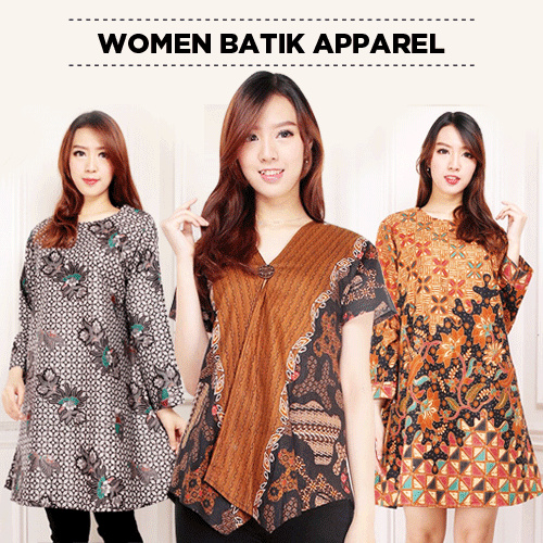 Midi Dress Tunik Batik Collection Deals for only Rp69.900 instead of Rp104.328