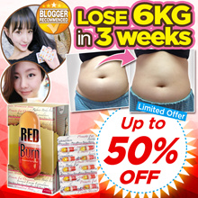 [MEGA SALE!!]  🔥🔥RED BURN FEB SPECIAL 🔥🔥★LOSE UP TO 6KG / 1 MONTH SUPPLY = 60 PILLS