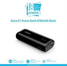 Anker Astro E1 PowerBank 6700mAh Black A1211013