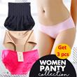 Get 3 pcs - Panties Celana Dalam Wanita Aneka Model dan Warna