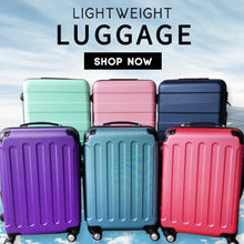 **24 inch - $35.90 ** FREE BAG PROMO  **Suitcase Hardcase Luggage Cabin bag Travel Bag