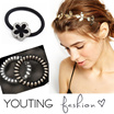 【YOUTING】[New Arrival]Fashion Accessories Hair Accessories Best price High quality  clip hoop hairbands headband hair band rubber band earrings  Christmas gift