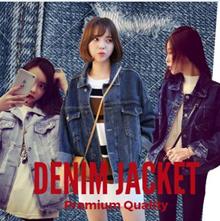 2 In ONE Shipping [Updated 2017]~ Korea Fashion Denim Jacket in Multi Design/ Plus Size