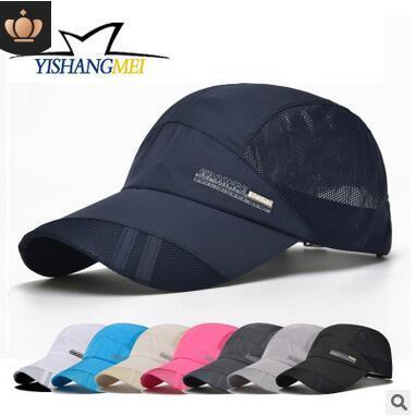 ea26a1545387e Hat summer men and women outdoor sports quick-drying cap sunscreen  sunscreen baseball cap