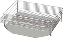 Three sets of dish type dish tray of Arubamoto Yoko Rabajeru stainless steel (dish tray tray tray pocket) DLM-8585