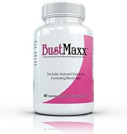 Bustmaxx All Natural Bust Enlarging Enhancement Supplement Capsules 60 Count