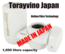 From Japan/Torayvino MK303/Faucet Mount Filter/Tap Water Filter/Hollow Fibres/Water Filter