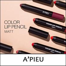 [A Pieu] ★ Big Sale ★ Color Lip Pencil [Matt] 1g / Matt Lip color pencil