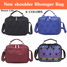 buy 2 free shipping/ 2018 New shoulder bag/ Laser package/ Rhomger bag/ Diagonal package