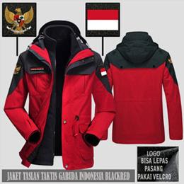 Jaket Taslan Taktis Waterproof Timnas Garuda Indonesia SJ0305
