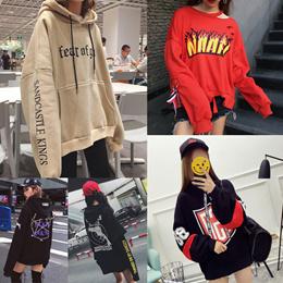 韓国ファッション 可愛いデザインパーカー トレーナー カジュアル コート アウター ・ファッション//高品質/ドナルド/ディズニー可愛いミッキー柄/