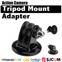 Action Camera Sjcam Gopro Tripod Monopod Mount Adapter