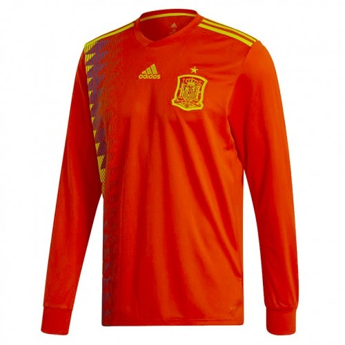 fit to viewer. prev next. Spain Men Home Long Sleeve World Cup 2018  CLIMALITE Fans Jersey cafedeb63