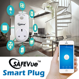 Wireless Smart Plug Control by App Socket Outlet | Surge Protection | 3pin plug