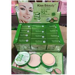 BEDAK ALOE VERA - Kiss Beauty 92% Stay Matte Powder  Foundation 2in1