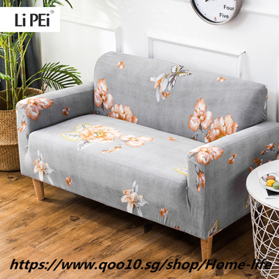 Flower Pattern Elastic Stretch Universal Sofa Covers Sectional Throw Couch Corner Cover Cases F