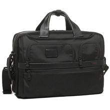 Tumi Bag TUMI 26180 D 2 Alpha ALPHA 2 THREE WAY BRIEF Briefcase BLACK