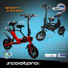 Scootpro Z2 and DMX 1  E-Scooter ★  LTA COMPLIANT ★ 12 Inch Wheel  ★ Dual Disc Brake ★