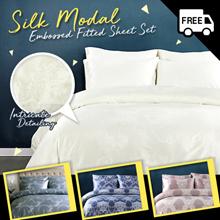 SILK MODAL Quilt Cover Bedsheet Pillow Bolster Case Set 10 designs soft and silky