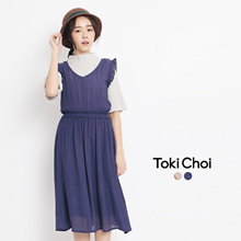 TOKICHOI - Frill Sleeves Dress-6021027-Winter
