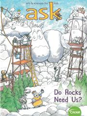 Middle Primary 3 / 4  English Science Storybook ASK Magazine (Subscription 9 issues a year)