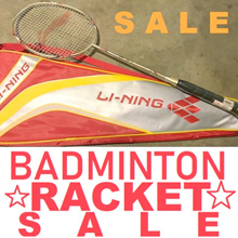 [11.11 SALE] LINING BADMINTON RACKET LI-NING ORIGINAL RACQUET SHUTTLECOCK ASSORTED MODELS