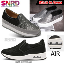 SNRD ★2017 S/S ITEMS ADDED!!!!! / Made in Korea★ Womens Slip On Shoes Casual Flats Classic Sneakers