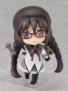 Magical Girl Madoka ☆ Magica Nendoroid Akemi Homura (Nonscale ABS & PVC Painted Movable Figure)