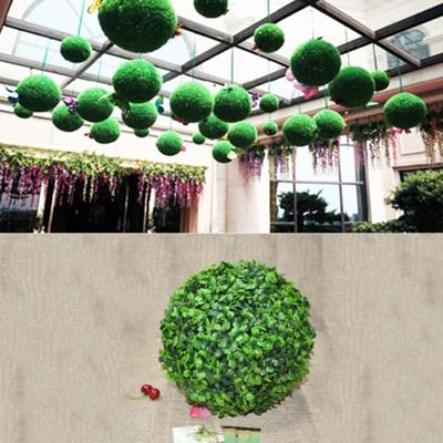 Factory Balls Christmas.Artificial Green Eucalyptus Factory Balls Toe Piano Wedding Event Home Outdoor Decoration Hanging Decoration Diameter 17 Inches