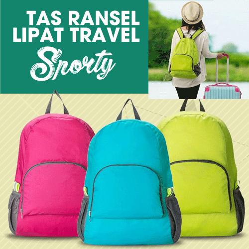 Tas ransel lipat Travel olah raga sporty Deals for only Rp45.000 instead of Rp45.000